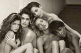 Naomi Campbell relembra encontro em foto clássica de modelos seminuas