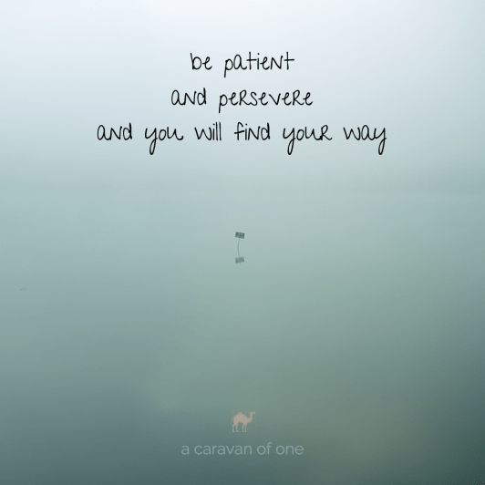 patience.persevere