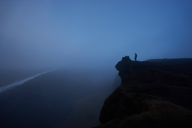 at the edge of the abyss