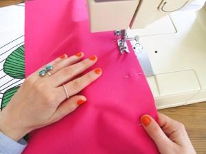 DIY // Comment coudre un sac de plage // How to sew a canvas beach bag // A Cardboard Dream