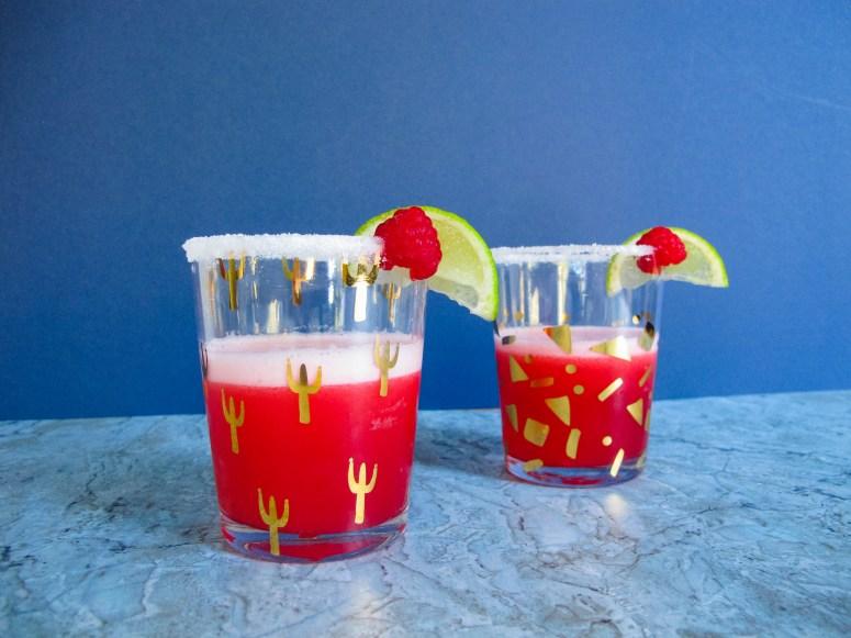 Recette // Cocktail Daiquiri à la framboise // A Cardboard Dream blog