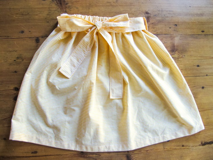 DIY COUTURE FACILE / La jupe d'été /Easy sew How to make a summer skirt / A Cardboard Dream blog