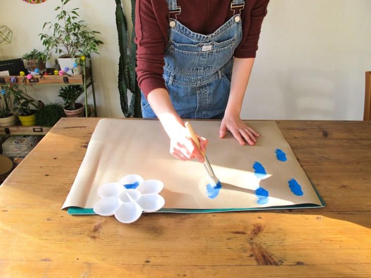 DIY // Réaliser son papier cadeau maison // Make your own gift wrap // A Cardboard Dream blog