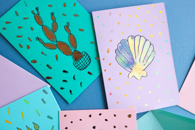 DIY // Des cartes à décorer soi-même // Make your own cards // A Cardboard Dream