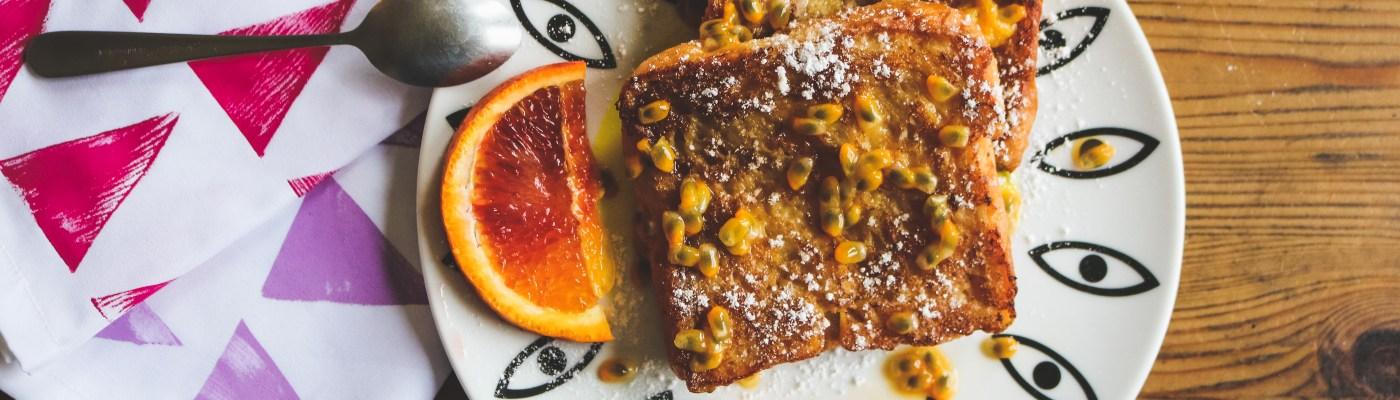 Recette pain perdu exotique // Exotic french toast recipe // A Cardboard Dream blog