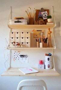 Idee per la zona ufficio - ottimizzare gli spazi con le mensole