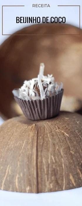 Beijinho de coco delicia das festas de aniversário