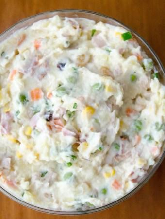 Receita de salada de batata e maionese
