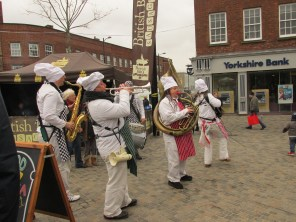 The Skiband - street band
