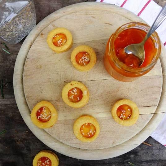 Kekse mit Käse
