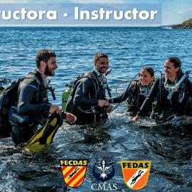 Curso de Instructor FEDAS/FECDAS/CMAS 1* y 2* + 6 especialidades Septiembre/Octubre 2021