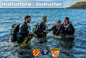 Curso de Instructor FEDAS/FECDAS/CMAS 1* y 2* + 6 especialidades Octubre 2021