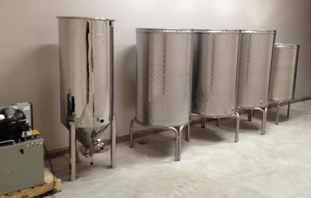 Valonray Fermentation Tanks