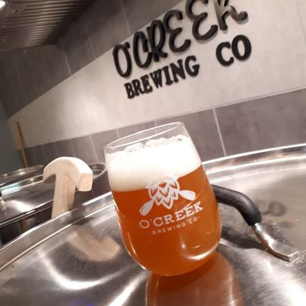 O'Creek and Beer Glass