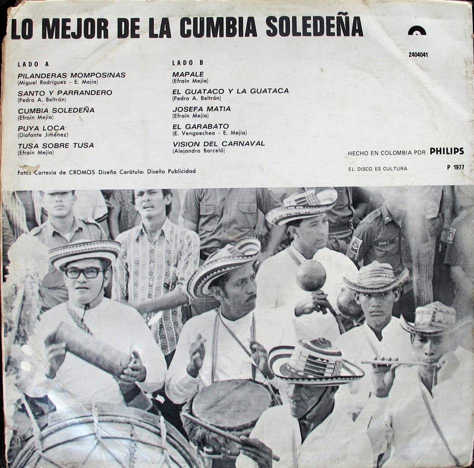 Cumbia Soledeña - éxitos del carnaval - Polydor 2404041 - 1.977 (4/6)
