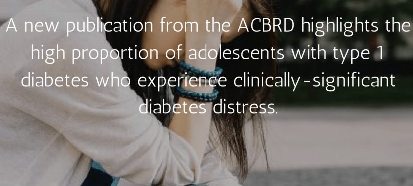 Clinically-meaningful cut-points for diabetes distress among adolescents with type 1 diabetes