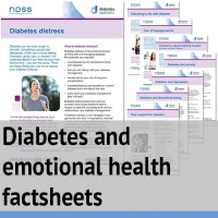 Diabetes and emotional health factsheets