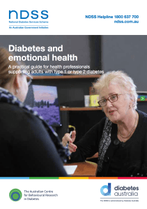 Practical Guide Cover, photo of health professional talking to patient