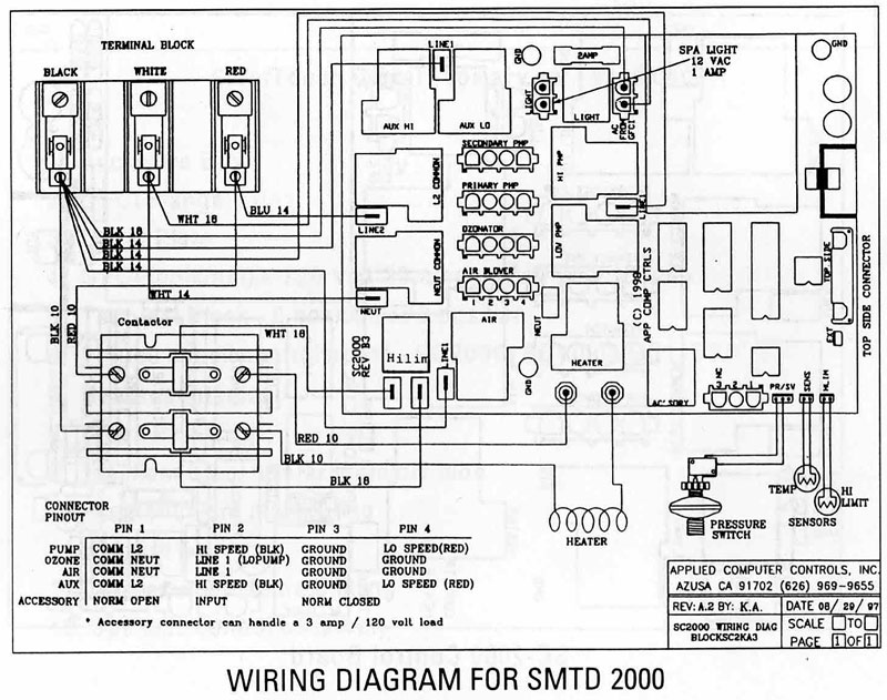 Wiring Diagram Moreover Hot Tub Spa Parts Diagram On Spa Control ...