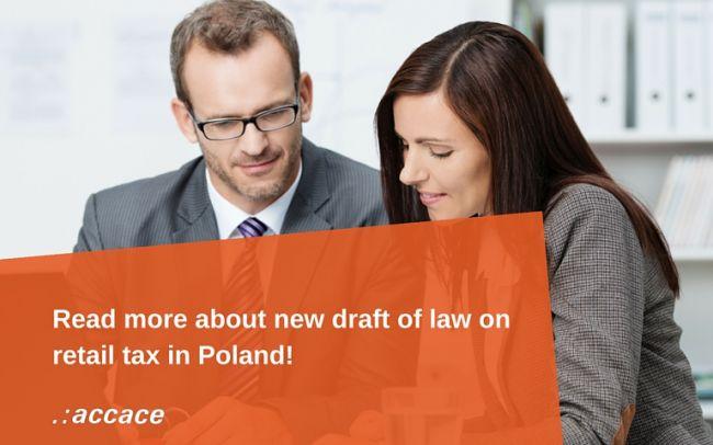 New draft of law on retail tax | News Flash