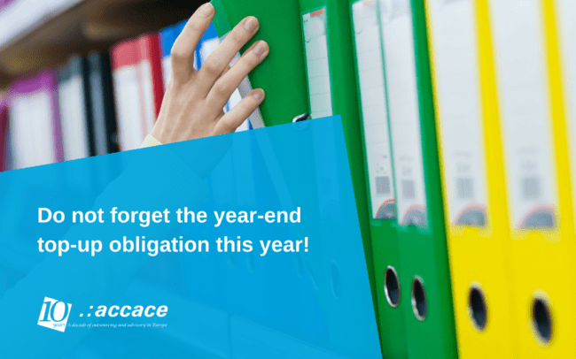 The year-end top-up obligation in Hungary 2016 | News Flash