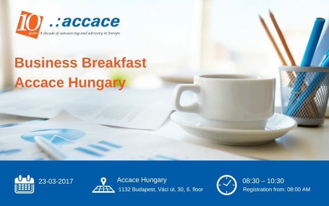 Business Breakfast | Accace Hungary