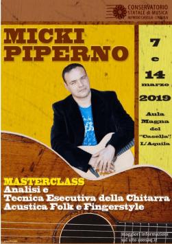 Masterclass Chitarra Acustica Fingerstyle