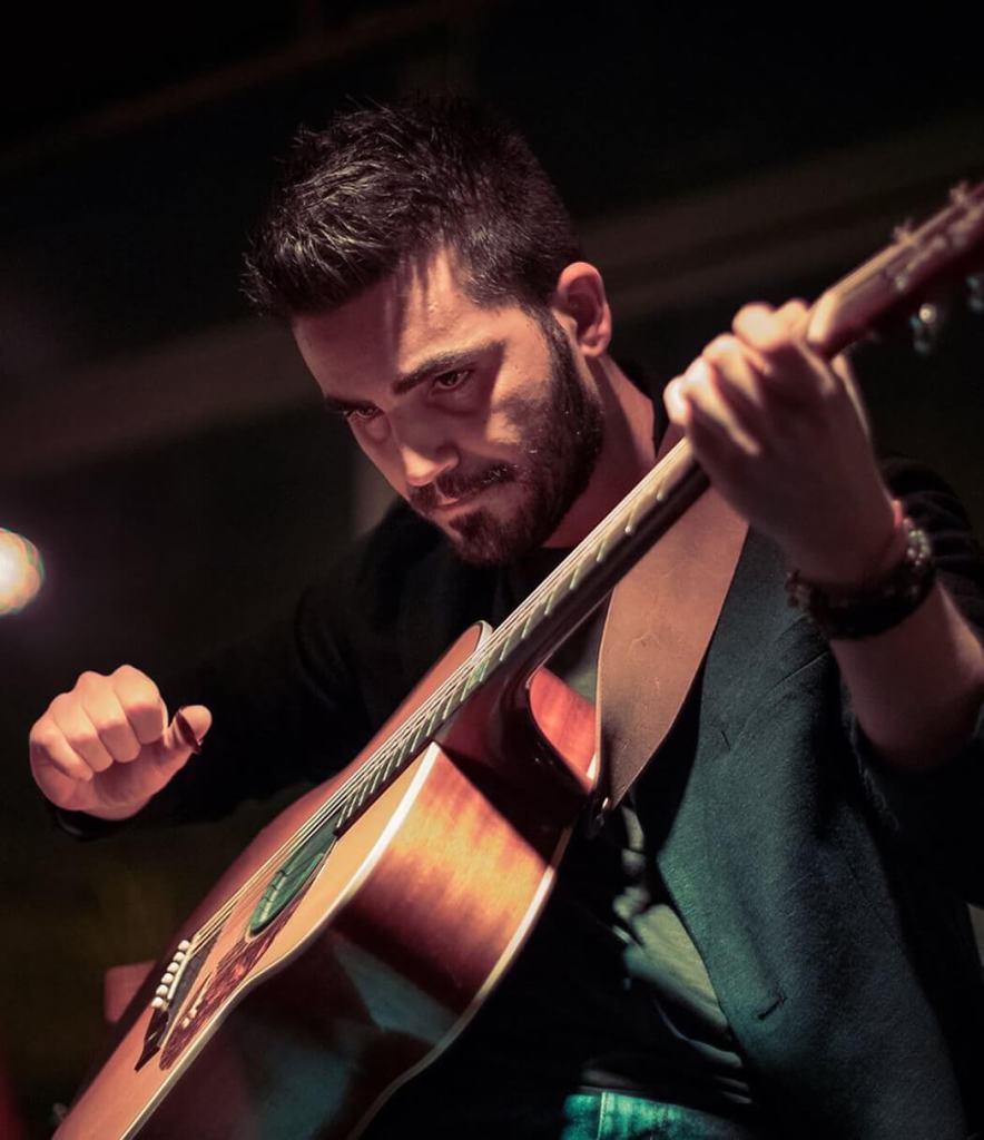 Davide Lomagno chitarrista
