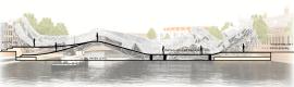 Progetto di ponte antropomorfo per Amsterdam