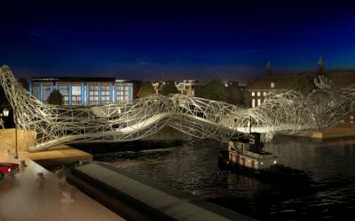 Un progetto di ponte antropomorfo per Amsterdam