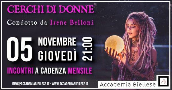 cerchi di donne- irene belloni -accademia biellese -biella -uno editori -accademia corsi -università