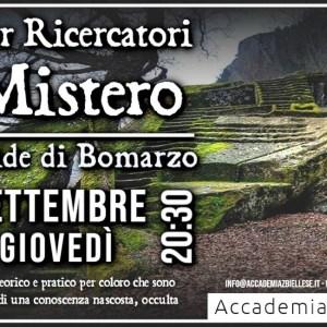 piramide bomarzo -biella -bomaro -accademia biellese -white rabbit event -università -mistero -irene belloni