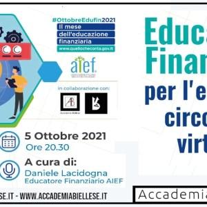 aief -educazione finanziaria-economia - economia circolare -white rabbit event -biella -accademia biellese
