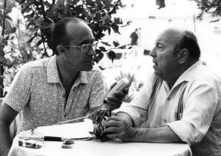 Lello Bersani e Marcel Carnè