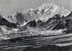 cresta Est-Sud-Est con il Zemu Peak - 1899