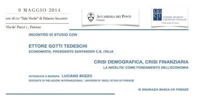 Incontro di studio con Ettore Gotti Tedeschi