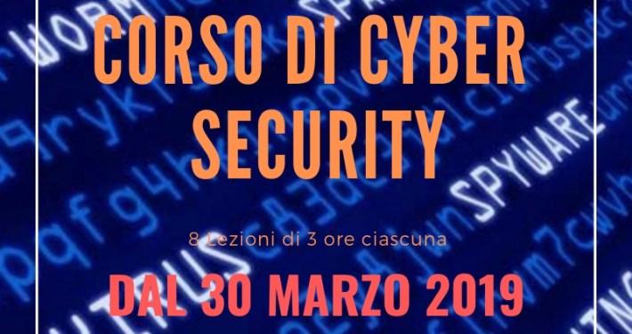CORSO DI CYBER SECURITY