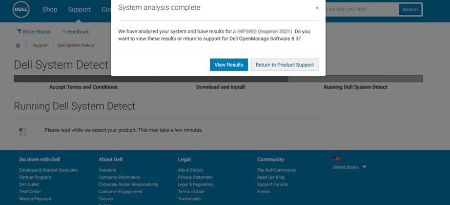 Dell service tag online