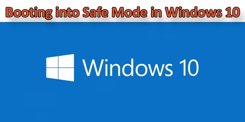 restart dell laptop in safe mode