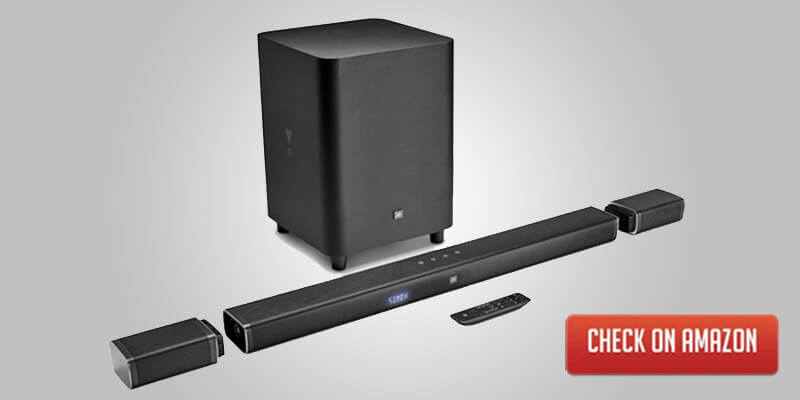 Dell JBL 5.1 Soundbar with 10 inch subwoofer and detachable speakers
