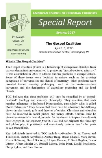 TGC 2017 Report