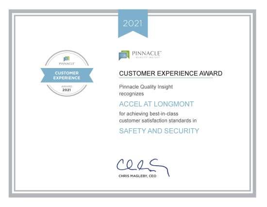 Image: StoneGate LongMont CEA Certificate 2021 picture