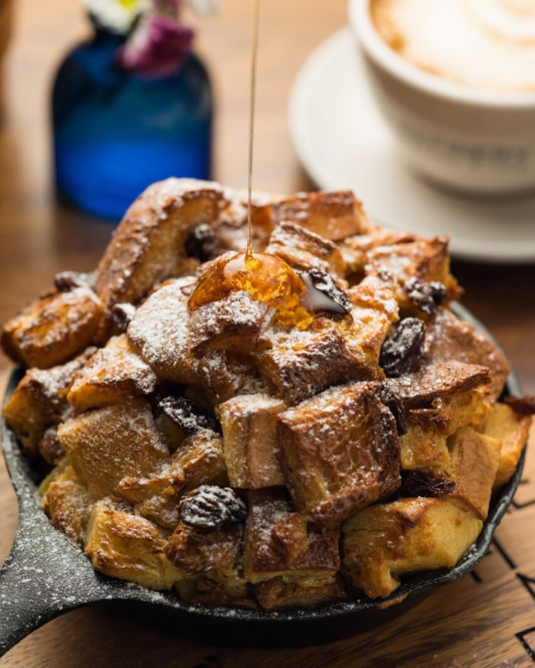 Bread Pudding from Refinery. Photo grabbed from Refinery Facebook Page.
