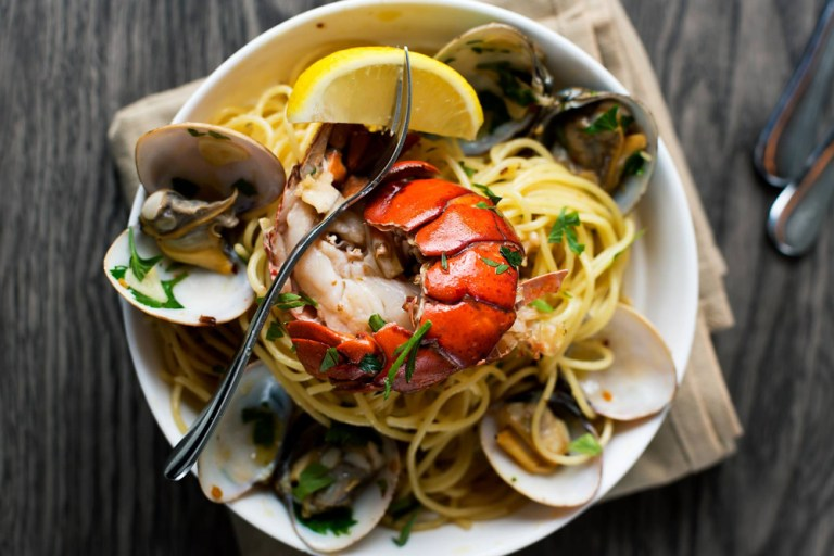 Lobster Vongole from CDP. Photo grabbed from CDP Global Table Facbeook Page.