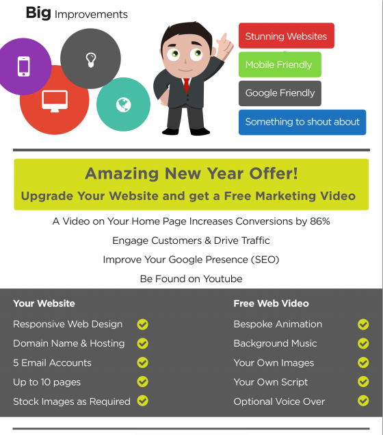 Amazing Website Offer from Acceler8 Media