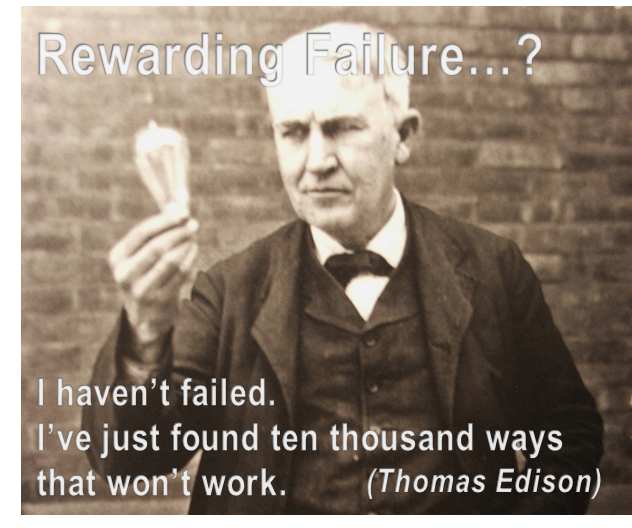Should failure be rewarded?