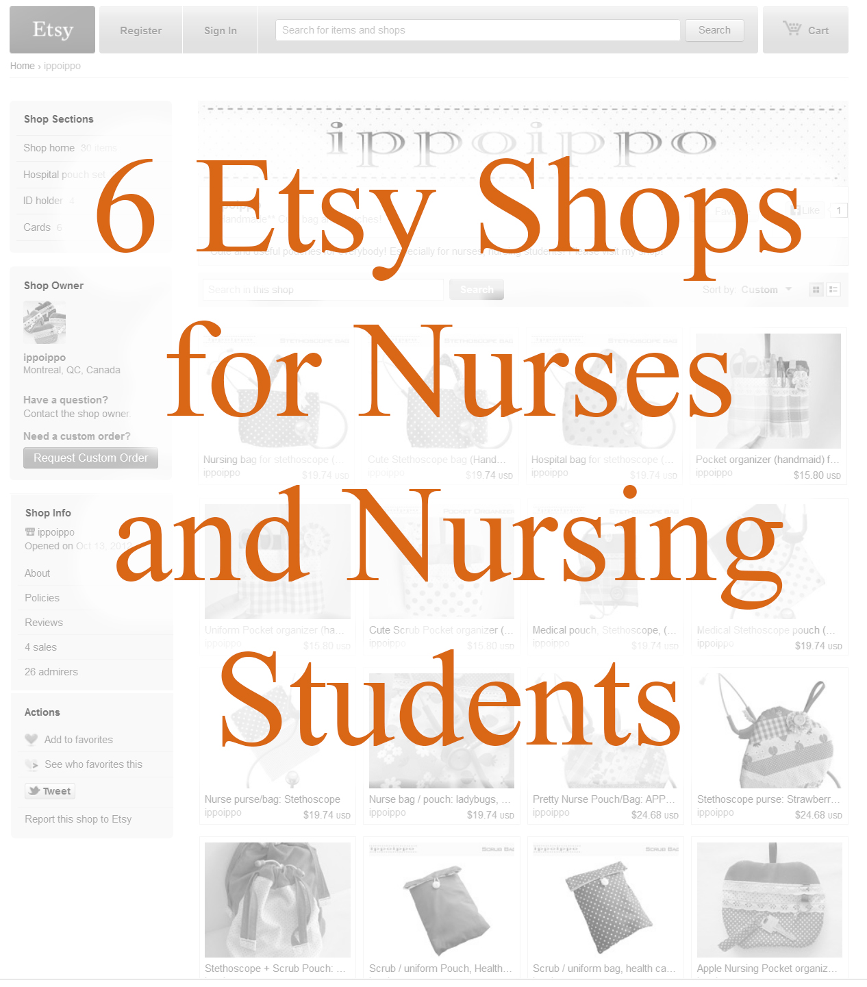 6 Etsy Shops For Nurses Amp Nursing Students