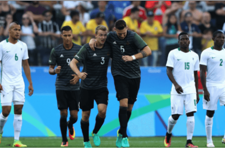 germany beats nigerian football team at olympics