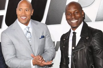 Tyrese and The Rock