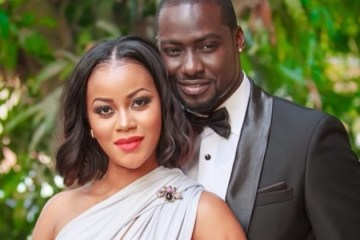 Chris Attoh and Damilola Adegbite